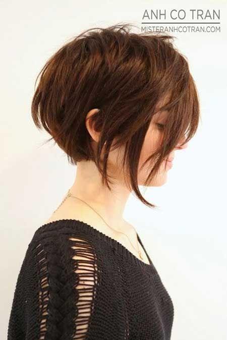 Messy Short Haircut