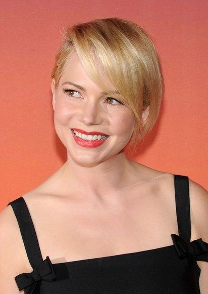 Michelle Williams Short Haircut Idea