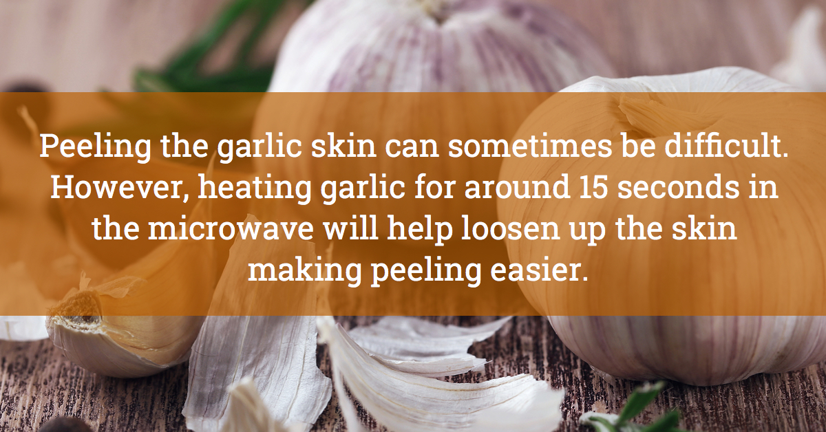 Peel Your Garlic With Ease