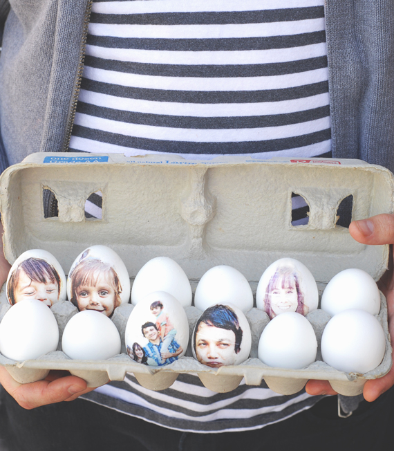 Photo Print Easter Eggs