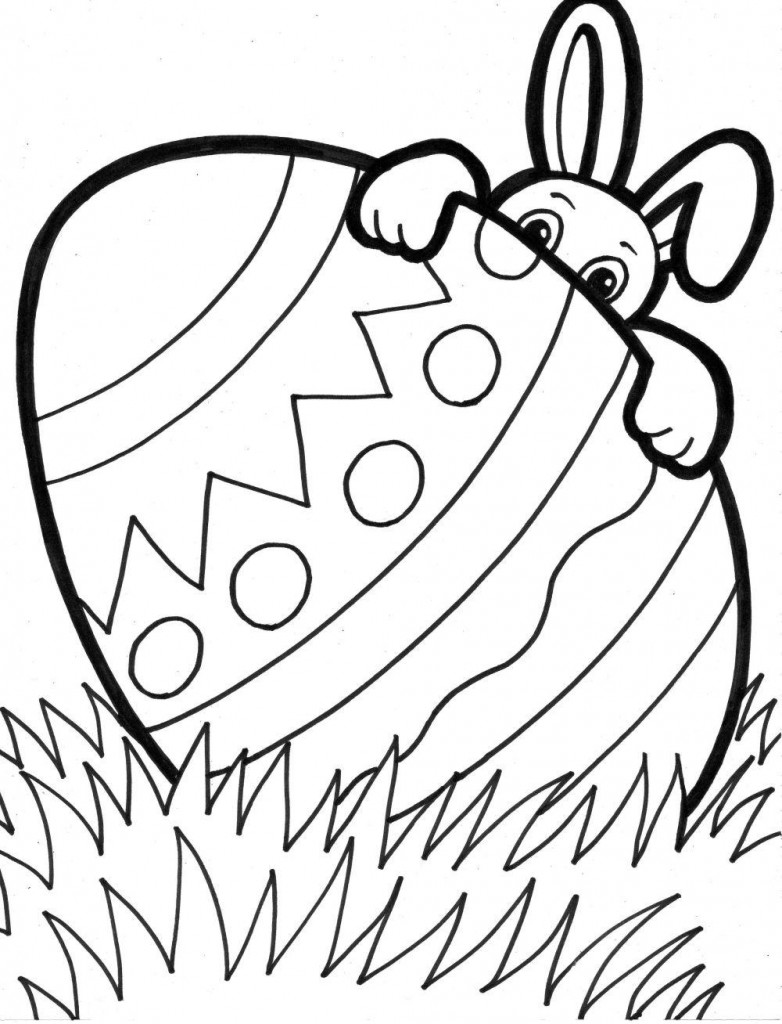 10 Year Olds Animal Printable Coloring Pages For Easter