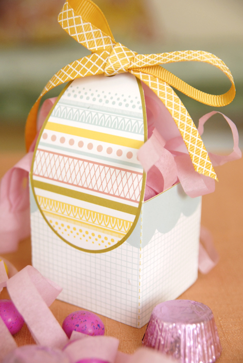 Printable Easter Egg Basket