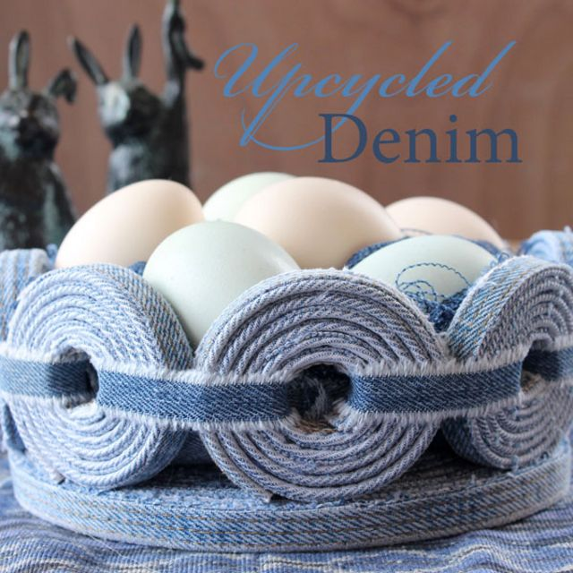 60 diy easter basket ideas for 2017 refashioned easter basket negle Image collections
