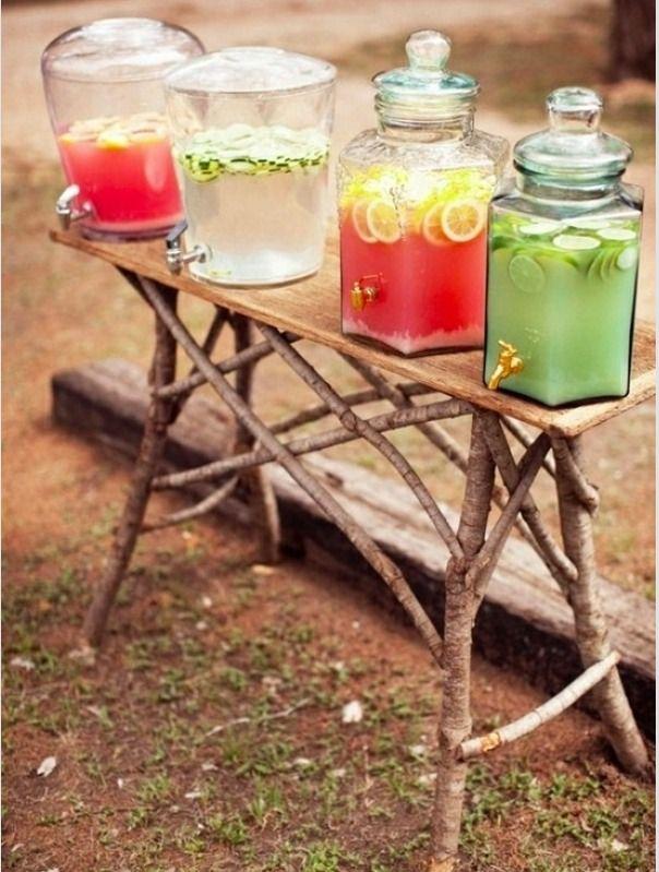 Rustic Drink Holders