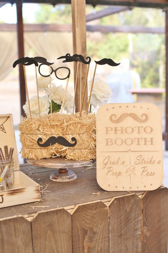 Rustic Photo Booth Sign