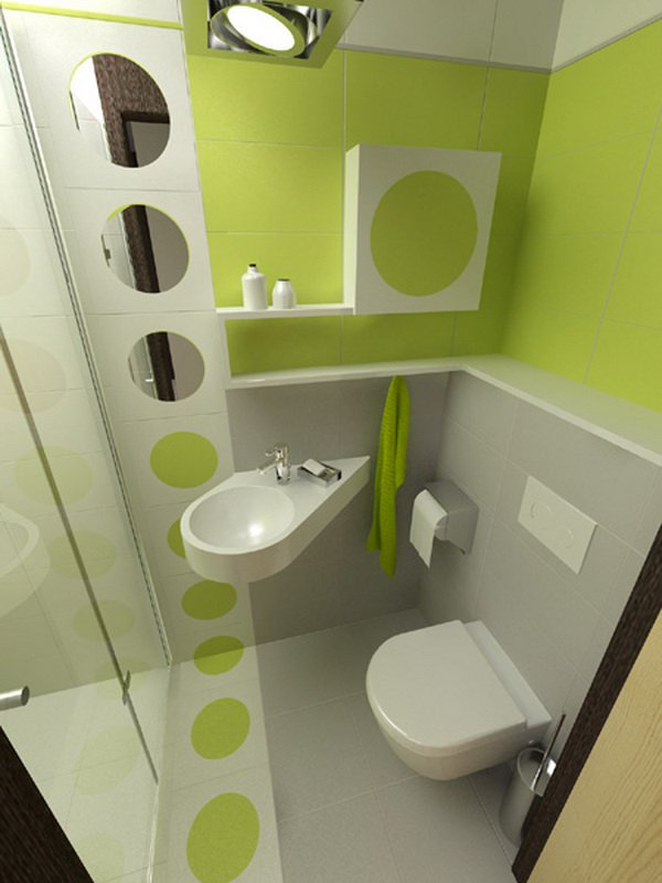 small bathroom decoration idea