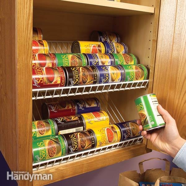 45 small kitchen organization and diy storage ideas for Organization ideas for kitchen pantry