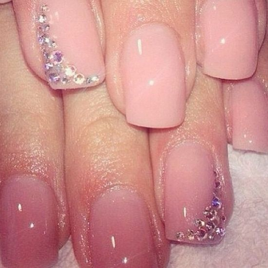 30 awesome acrylic nail designs youll want in 2016 valentine acrylic nail art prinsesfo Choice Image