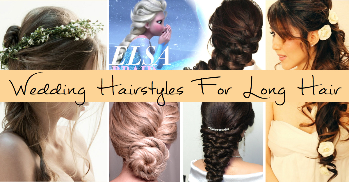 80+ Wedding Hairstyles For Long Hair That Will Make You Feel ...