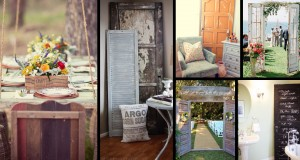 25+ Crafty Old Door Vintage Decorations To Boost The Charm Of Your Rustic House