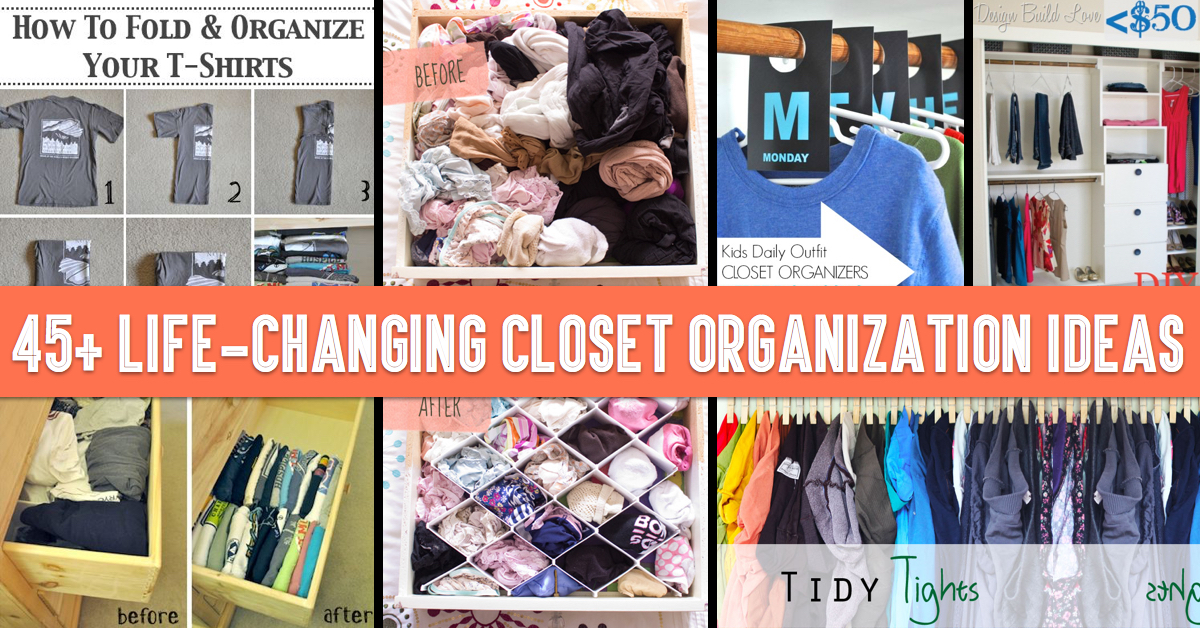 45+ Life Changing Closet Organization Ideas For Your Hallway, Bedroom And  Nursery!