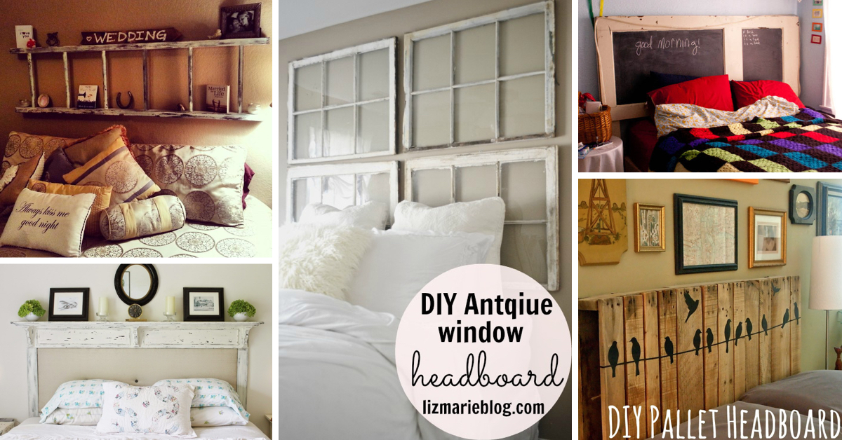 50+ Outstanding DIY Headboard Ideas To Spice Up Your Bedroom! U2013 Cute DIY  Projects