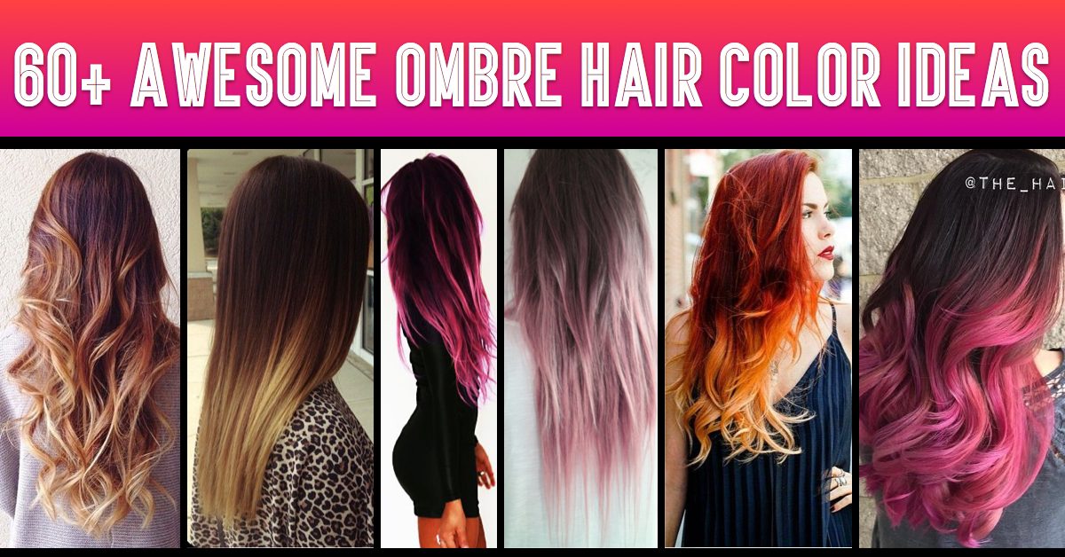 how to dye your hair ombre style at home 60 awesome diy ombre hair color ideas for 2017 9319