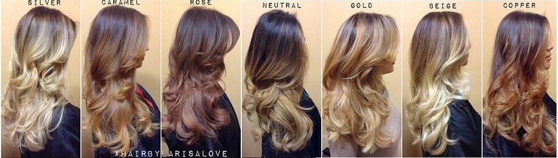Ombre hair color technique at home – Trendy hairstyles in the USA