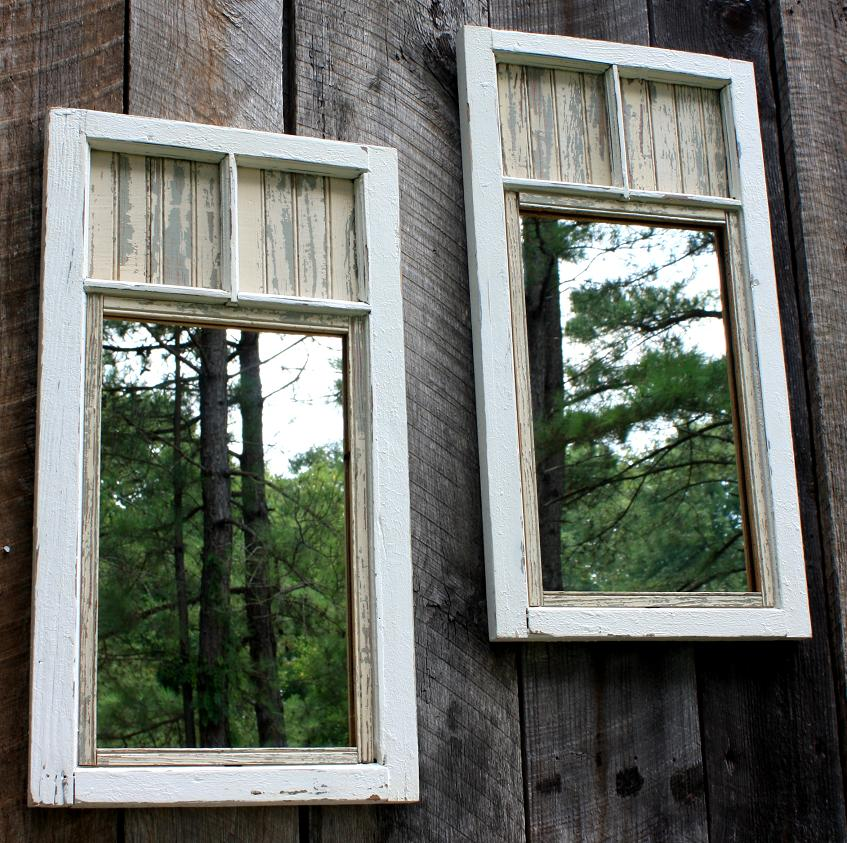 Add A Mirror Duo To Your Garden Shed