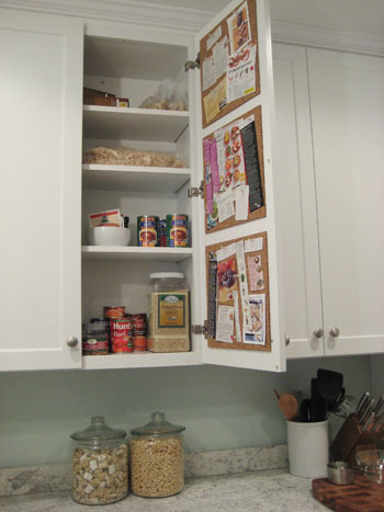 Add A Pinboard For Recipes In Your Kitchen Drawer