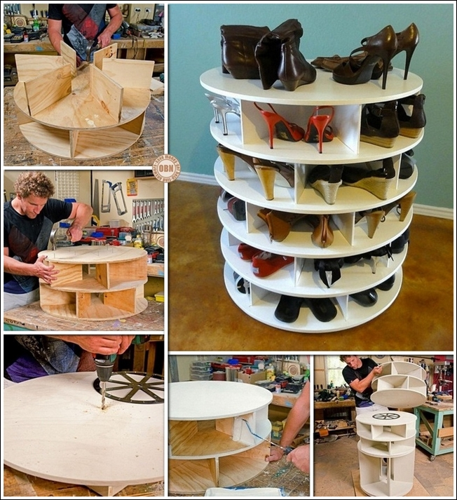 Awesome DIY Shoe Storage
