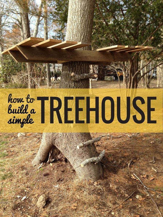 Build Yourself A Tree House