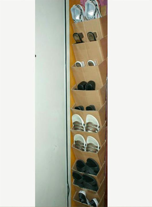30 great shoe storage ideas to keep your footwear safe and sound cardboard shoe rack solutioingenieria Gallery