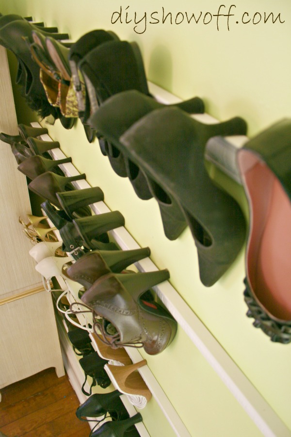 Chic And Stylish Heel Storage Idea