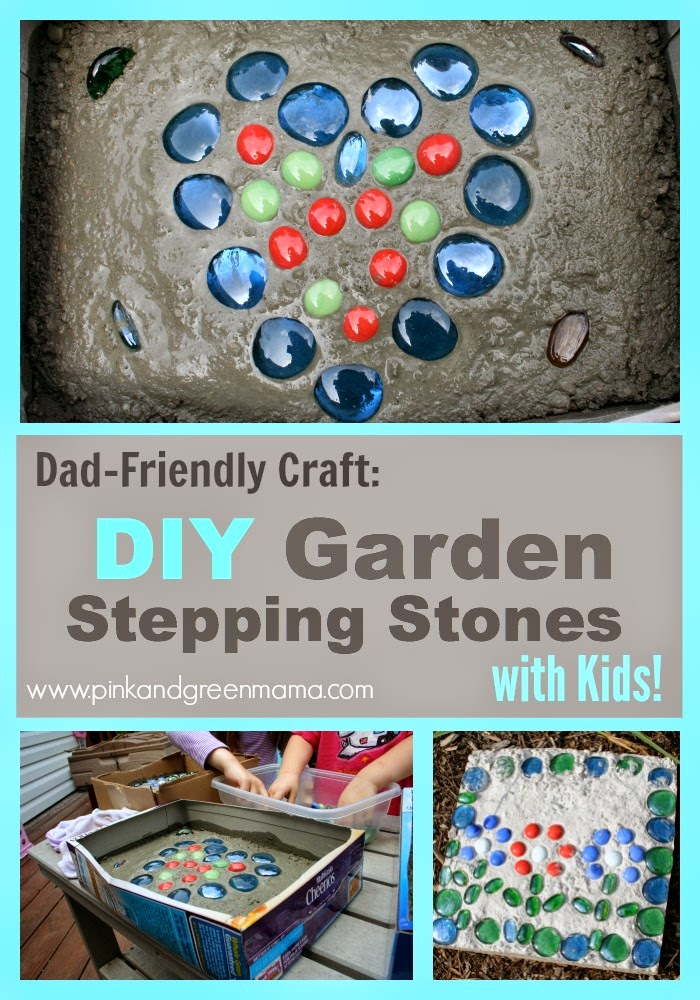 Child-Friendly Cement Stepping Stones