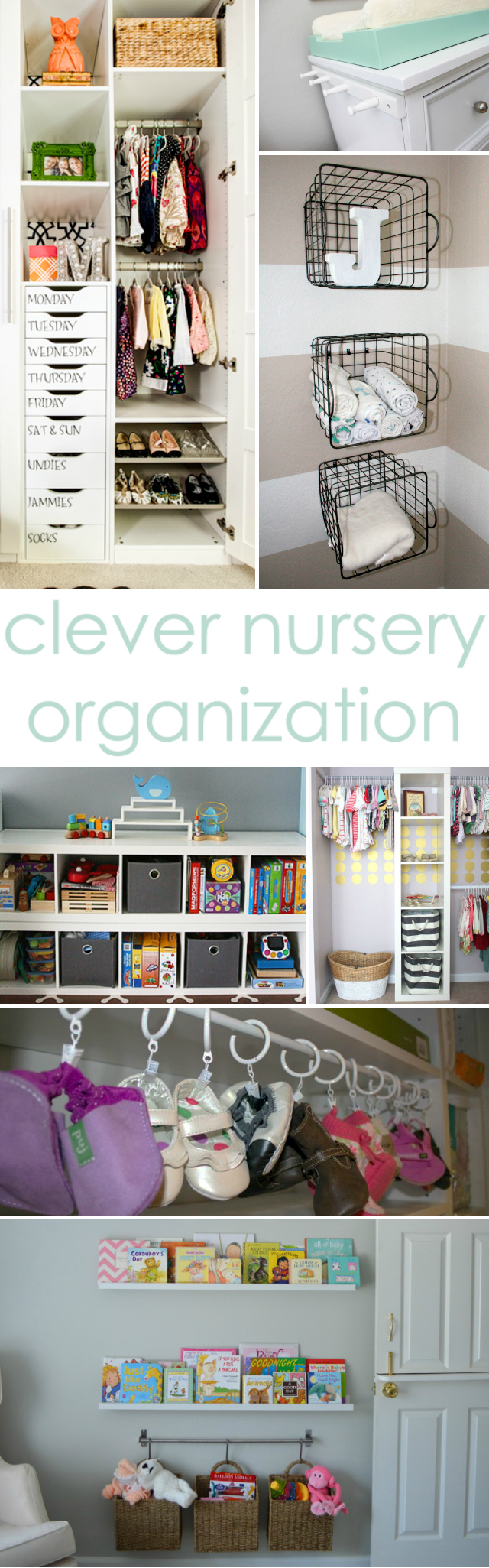 45 life changing closet organization ideas for your for Nursery project ideas