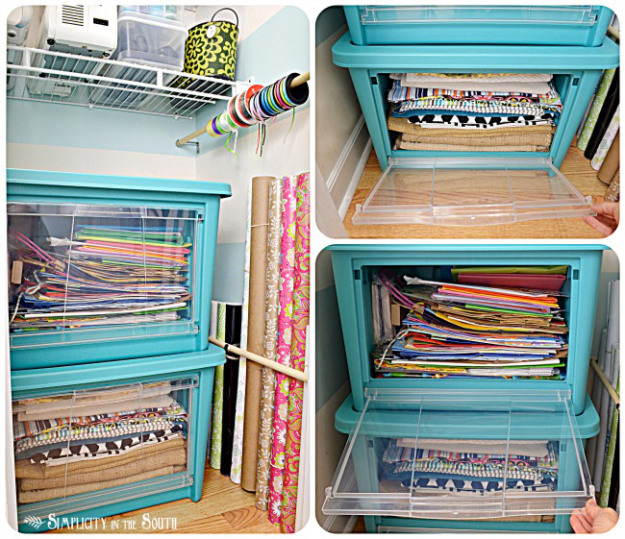Organizing Ideas For Small Homes Part - 46: Craft Closet Organization. Craft Closet Organization. Big Ideas For Small  Homes!