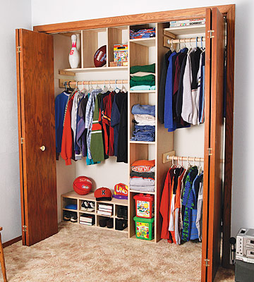 45 life changing closet organization ideas for your for How to make wardrobe closet