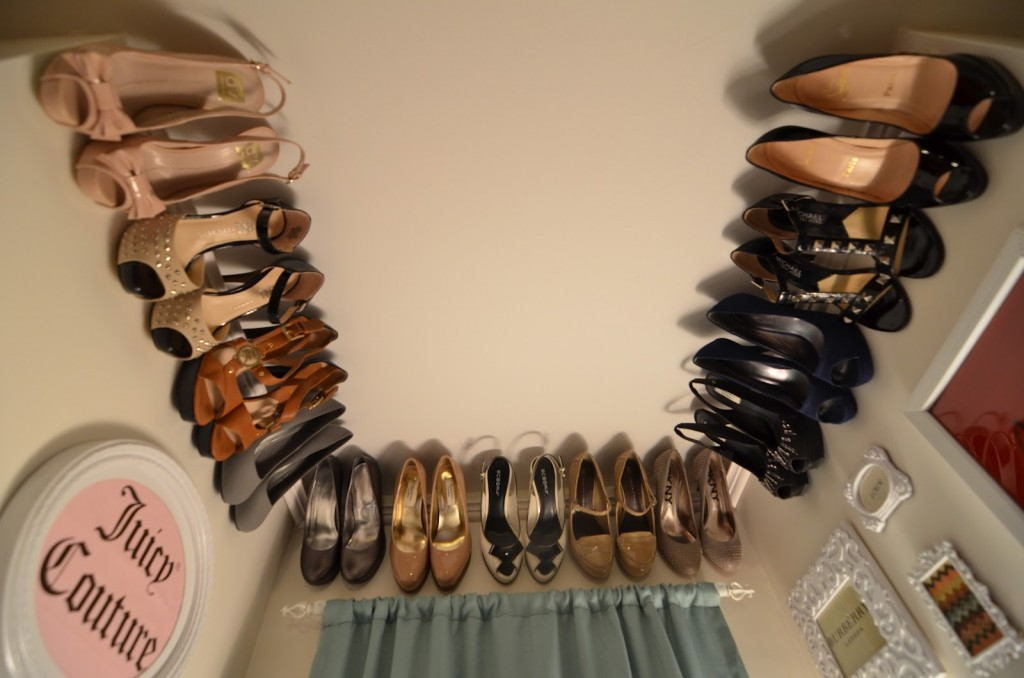 Crown Molding For Your Shoe Rack
