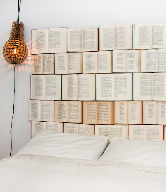 DIY Book Headboard!