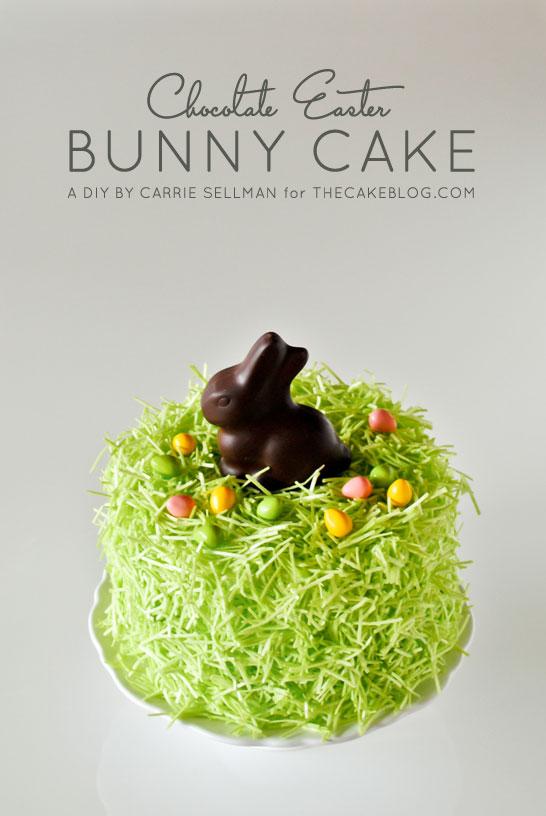 DIY Chocolate Bunny Cake