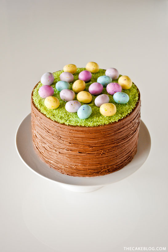 DIY Easter Basket Cake