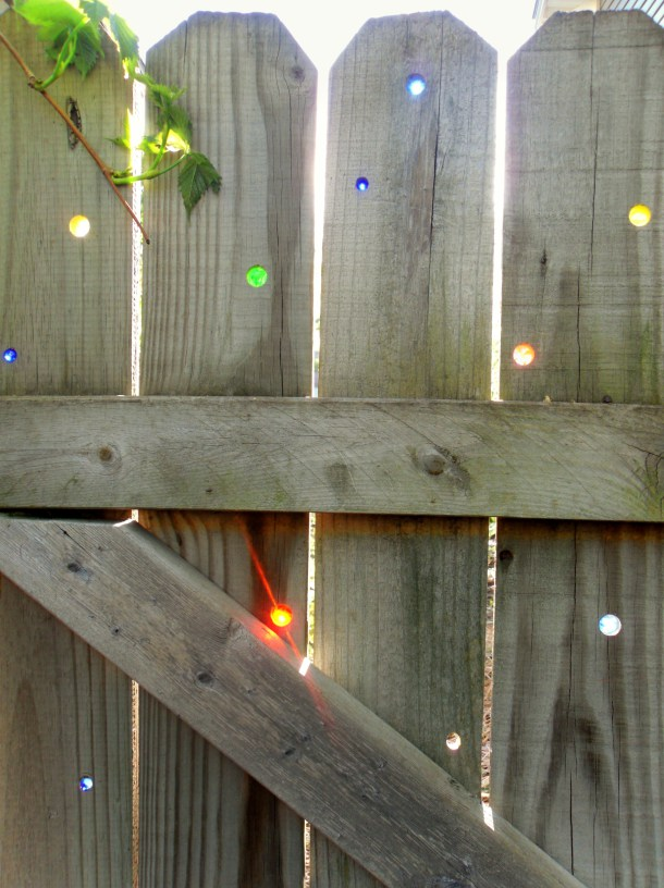 Diy Gl Marbles For Your Fence