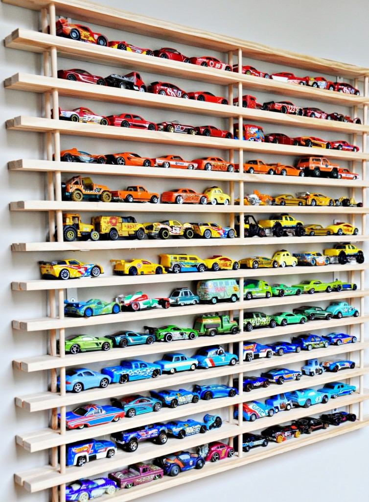 Toy Car Shelves : Amazing diy toy storage ideas for crafty moms page