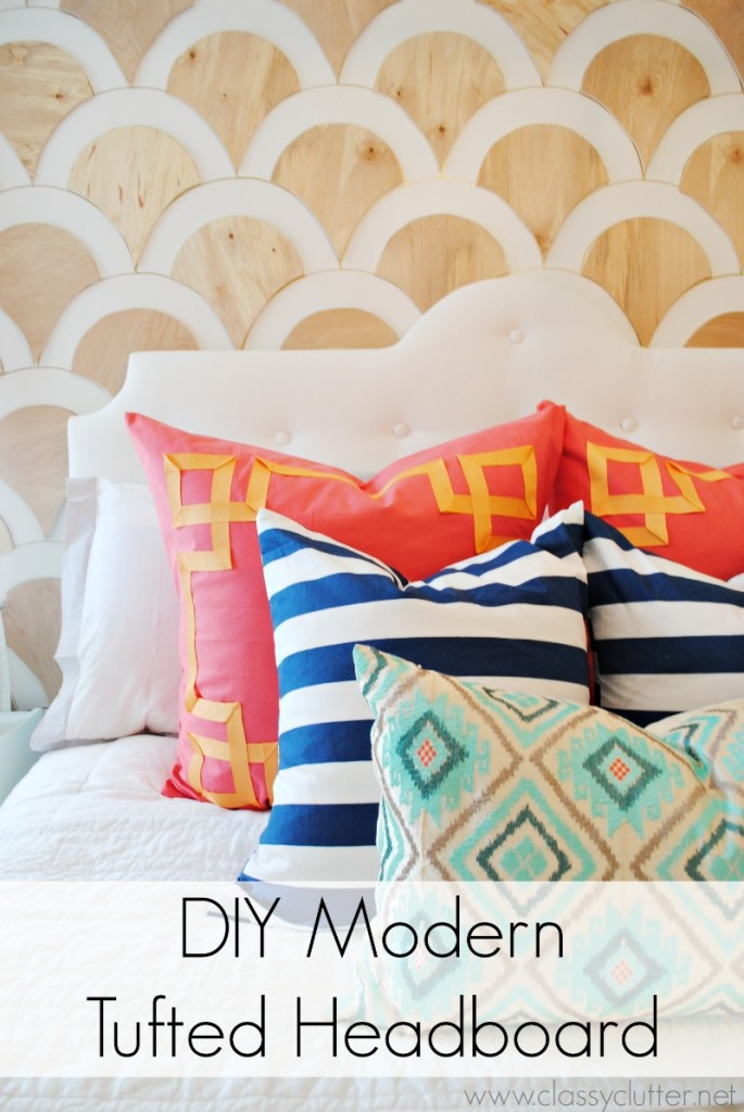 50 outstanding diy headboard ideas to spice up your for Modern headboard diy