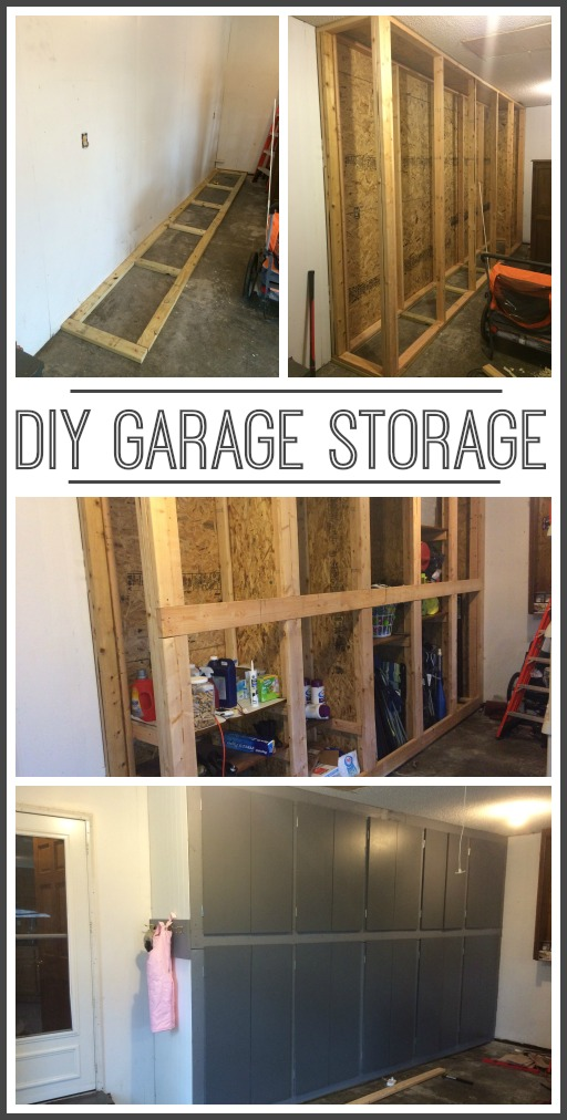 35 diy garage storage ideas to help you reinvent your for Cost to build your own garage