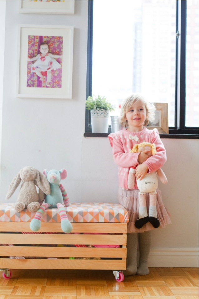 DIY Toy Boxes With Casters