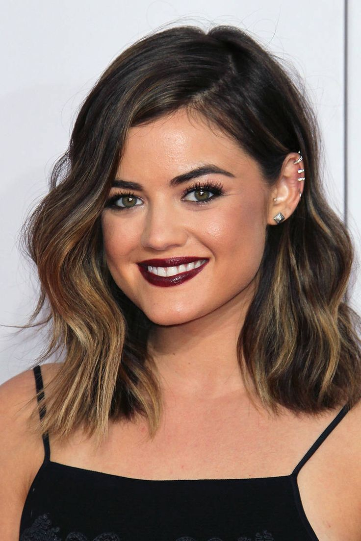 Discrete Ombre Style For Dark Hair