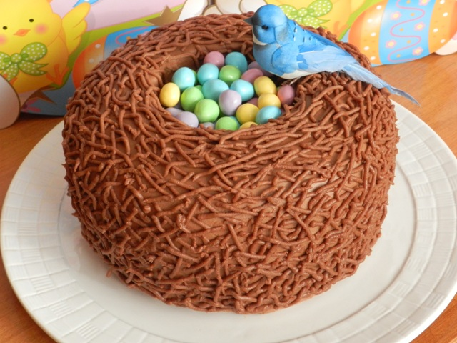 Easter Bird Nest Cake