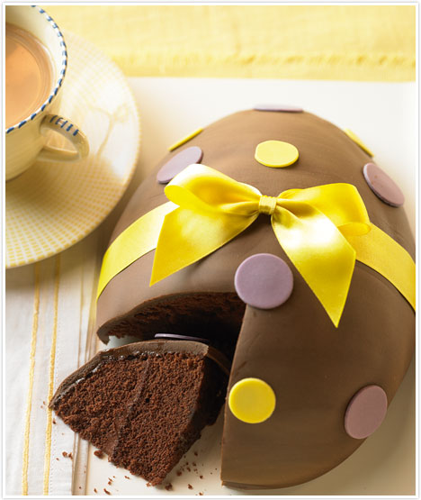 Easter Egg Cake Recipe