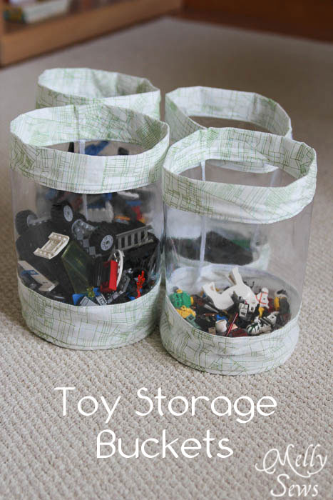 Fabric Storage Bucket Tutorial