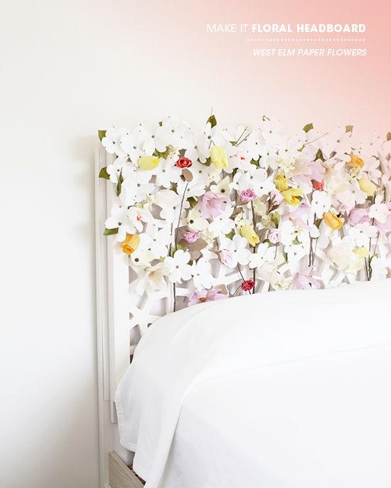 Floral Headboard