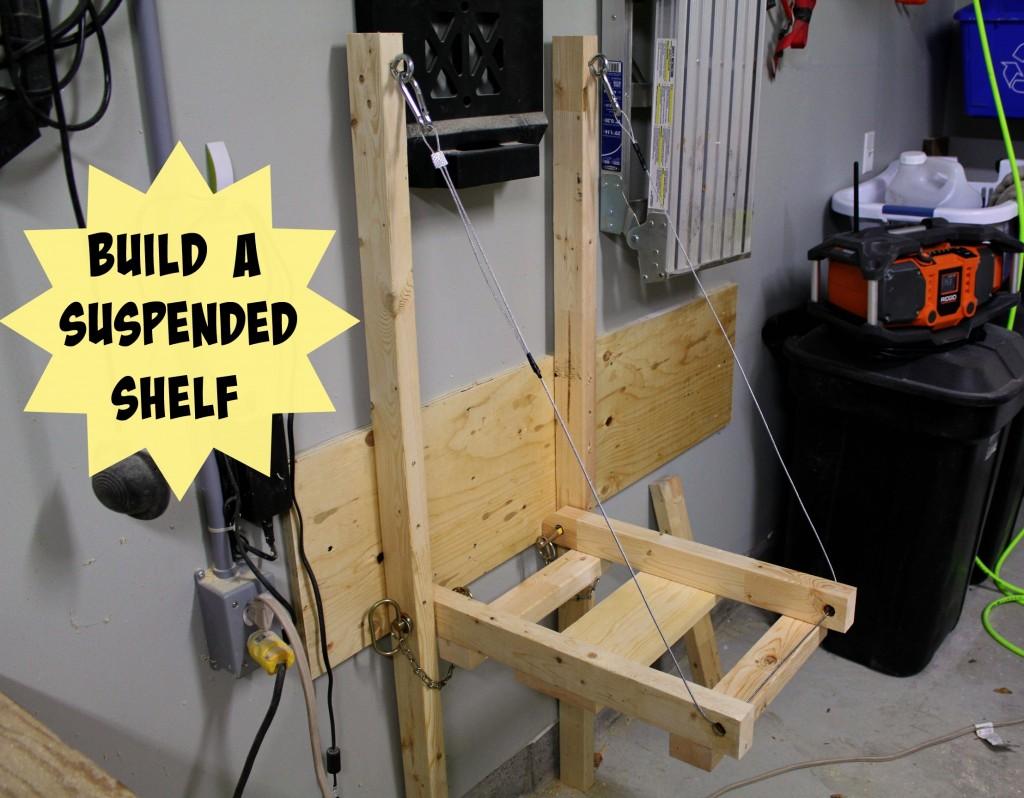 Fold-Up Suspended Shelves
