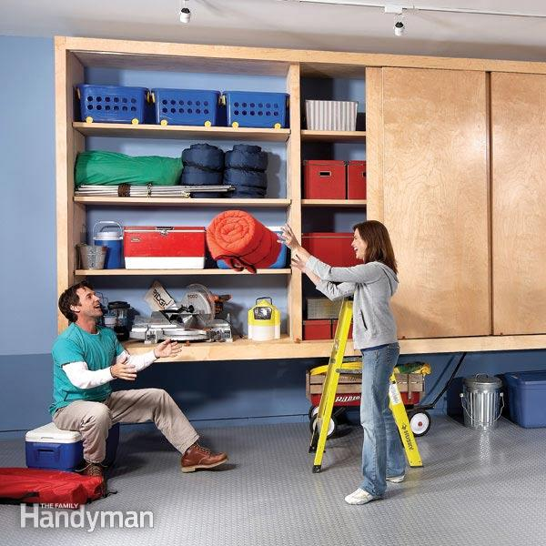 35 diy garage storage ideas to help you reinvent your for Diy garage plans