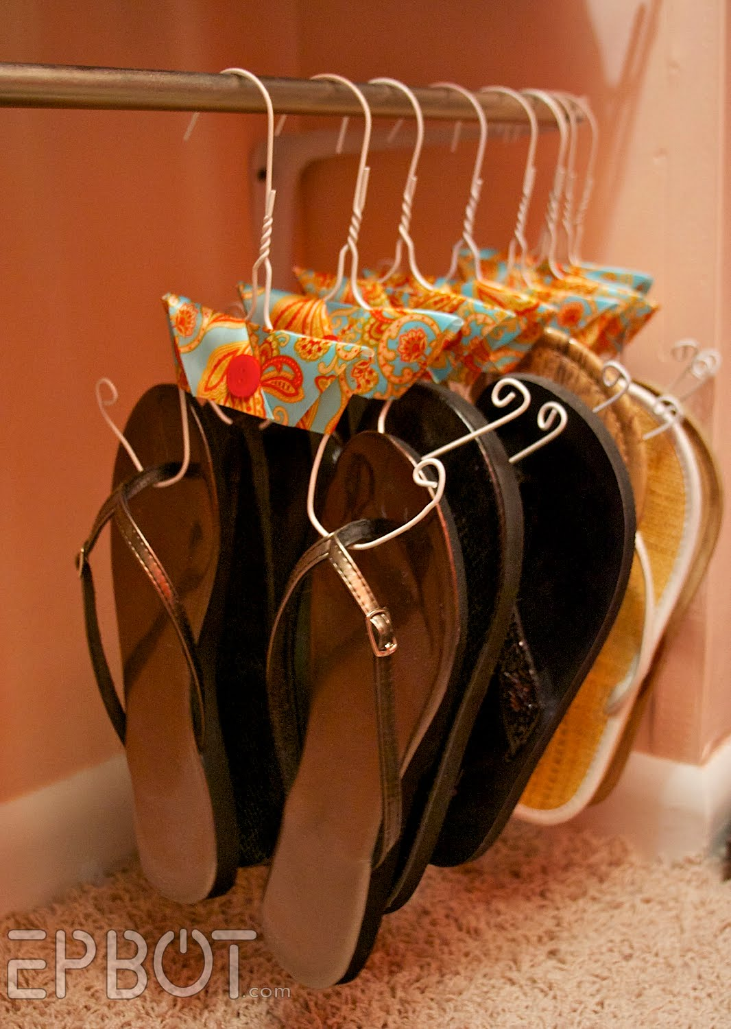 Hang Your Flip Flops The Classy Way