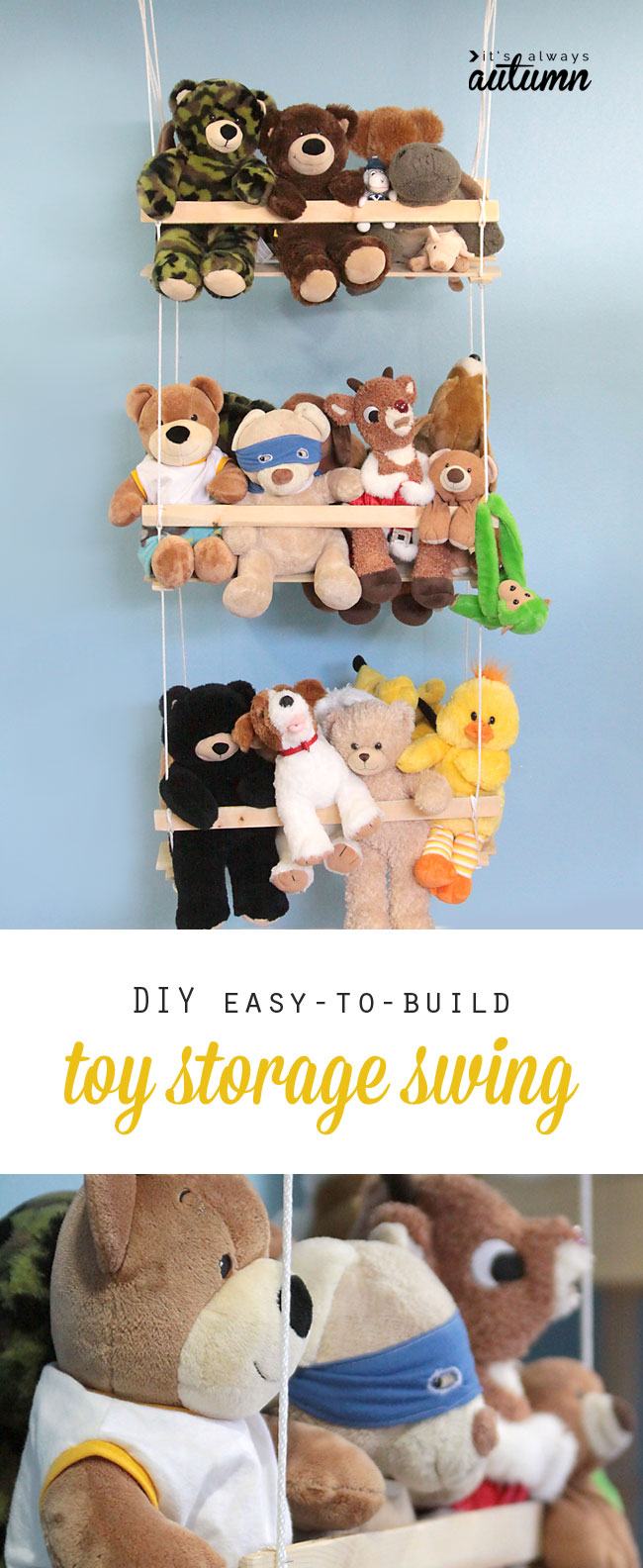 30  amazing diy toy storage ideas for crafty moms – page 2 of 2 ...