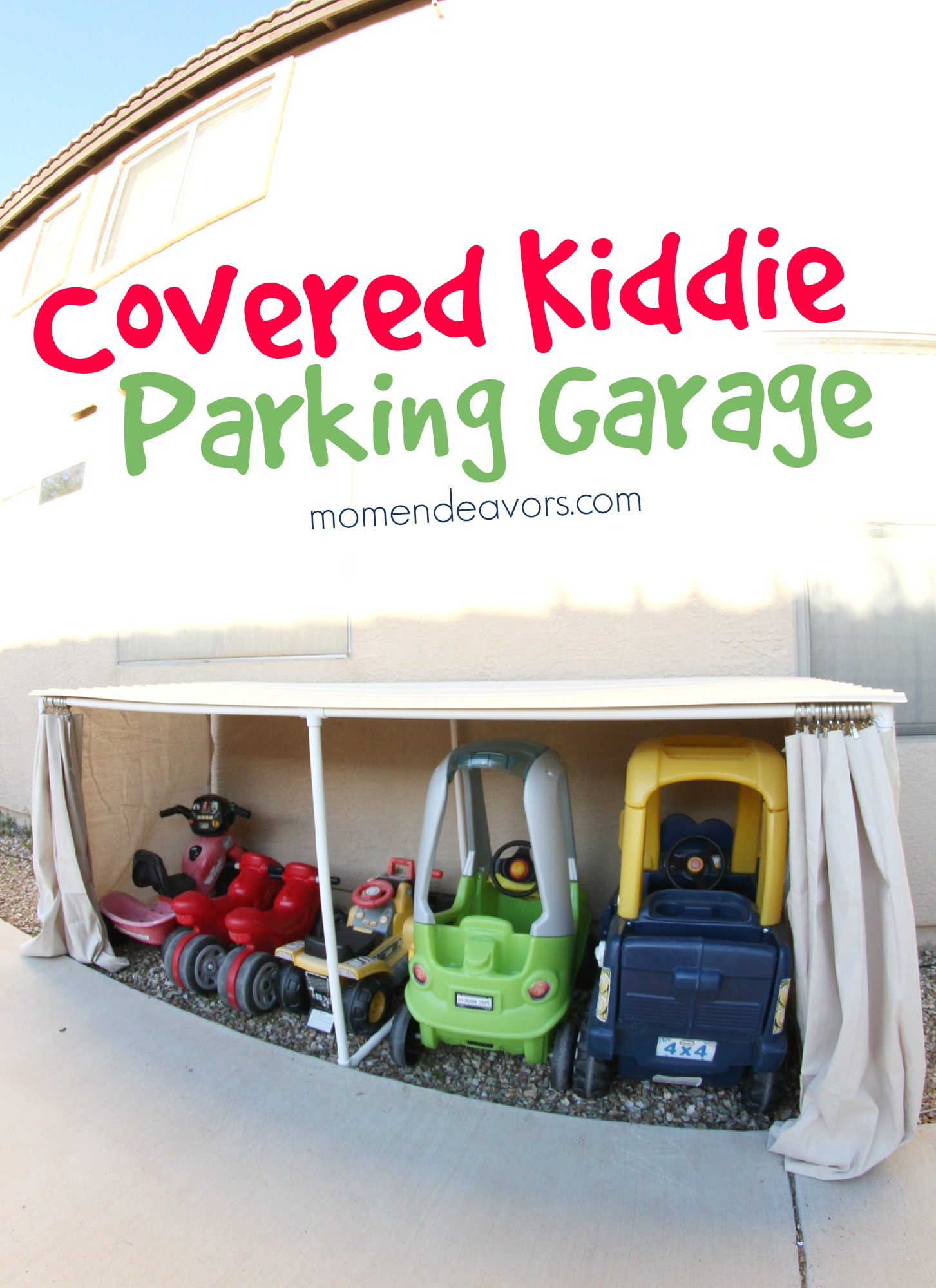 Nicole And Bianca Cutediyprojects Blogger Kid Car Parking Garage Toy Storage Idea