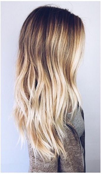 Long And Wavy Beach Hair