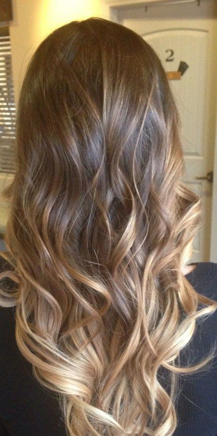 Lovely Mix Of Balayage And Ombre