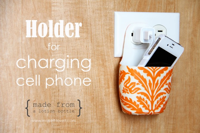 Make A Cell Phone Holder